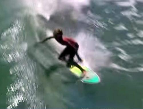 Surfing Hurricane Gonzalo