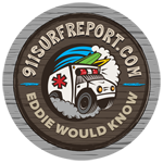 911 Surf Report – Poles Surf Report – Jacksonville Beach Pier Beach Cam – Surf Report – Eddie Would Know Logo