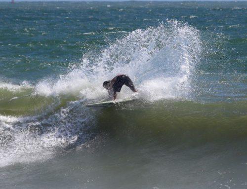 Surfing Huge Hurricane Dorian Waves - Florida Surf Report