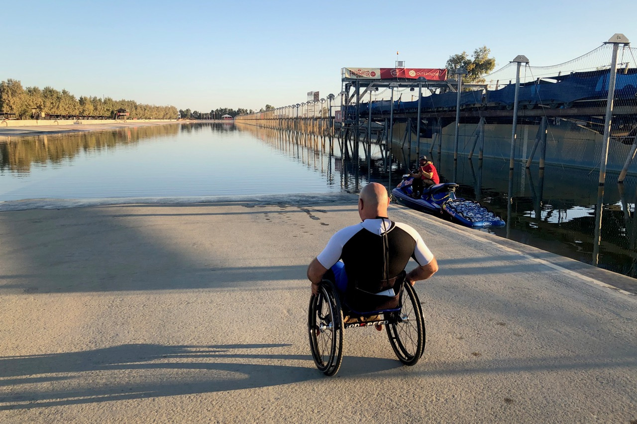 The Surf Ranch - Life Rolls On for Paraplegic Surfer Eric Lazar
